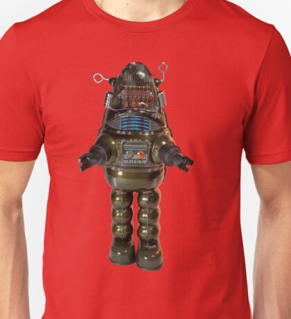 Billiken Shokai Tin Wind Up Robby the Robot Unisex T-Shirt