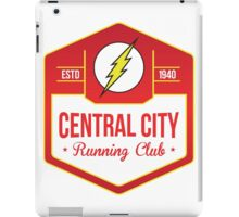 Central City Running Club Color iPad Case/Skin
