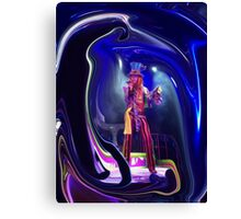 Mad T Party Mad Hatter Canvas Print