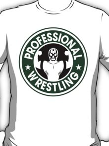 Pro Wrestling Starbucks T-Shirt