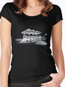 Vintage Airship Women's Fitted Scoop T-Shirt