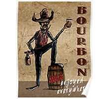 Fine Kentucky Bourbon Poster
