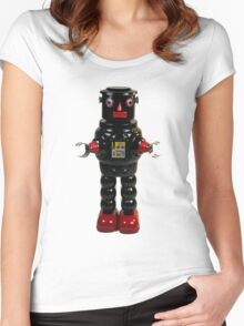 Mechanical Robby Toy Women's Fitted Scoop T-Shirt