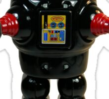 Mechanical Robby Toy Sticker