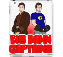 Big Damn Captains iPad Case/Skin
