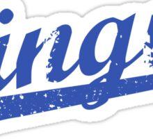 L.A. Dingus - The Blue Crew (Blue) Sticker