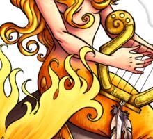 Golden Mermaid  Sticker