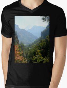 a desolate Nepal landscape Mens V-Neck T-Shirt