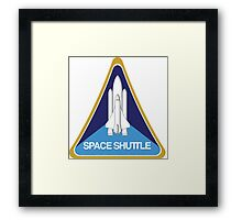 SpaceShuttle Blast Off Framed Print