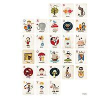 Il Mio Alfabeto Poster - Vertical Photographic Print