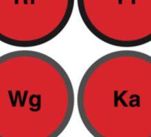 Musical Chemistry • Kraftwerk Sticker