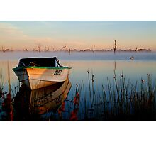 Sun-up on Lake Fyans Photographic Print