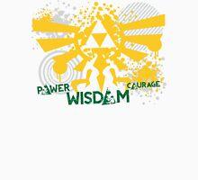 Power, Wisdom, Courage Street Art Unisex T-Shirt