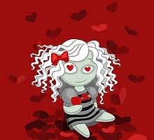Loving doll giving her heart by hellbereth