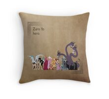 Hercules inspired design. Throw Pillow