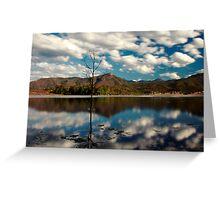 The Blue Lake Greeting Card