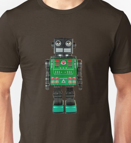 Smoking Kaiju Robot Unisex T-Shirt