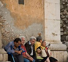 Santa Caterina Bench by phil decocco