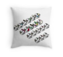 MacOffice Value Meal Throw Pillow