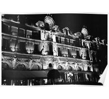 Casino and Hotel in Monte Carlo, Monaco Poster