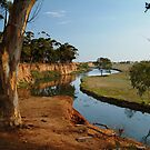 Werribee River by Joe Mortelliti