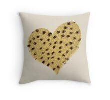 Heart Cheetah Print, Print, Poster, iPhone Case, Samsung Case, iPad Case, Home Decor, Throw Pillows, Totes, Duvet Covers Throw Pillow