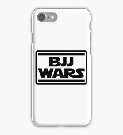 Brazilian Jiu Jitsu Wars iPhone Case/Skin