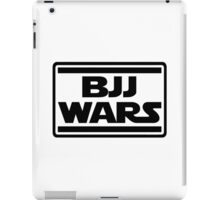 Brazilian Jiu Jitsu Wars iPad Case/Skin