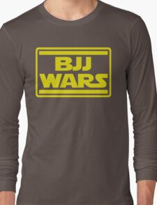 Brazilian Jiu Jitsu Wars Long Sleeve T-Shirt