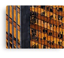 Sydney building reflection 11 Canvas Print