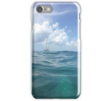 Glass Sea Sailboat iPhone Case/Skin