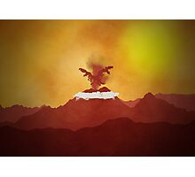 Pokemon - Moltres Rises Photographic Print