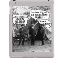 Lincoln: Dipped in Handsome Batter iPad Case/Skin
