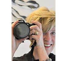 Chijude - D90 Fan - Playing Peek-a-Boo! Photographic Print