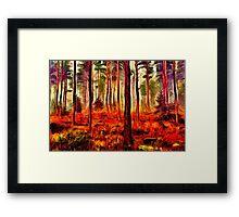 Magic Forest Fine Art Print Framed Print