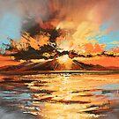 Arran Sunset by scottnaismith