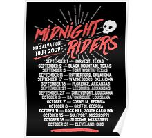 Midnight Riders - No Salvation Tour Poster