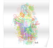 Kuichi Rainbird Spirit Poster