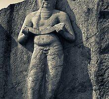 Pothgul Vihara Statue, Sri Lanka by randmphotos