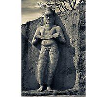 Pothgul Vihara Statue, Sri Lanka Photographic Print