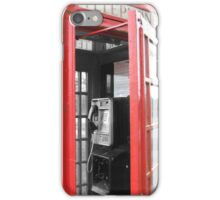 Phone Booth Back In Time iPhone Case/Skin