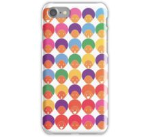 Afro Moods - Cute Emotions iPhone Case/Skin
