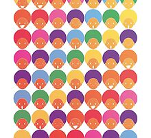 Afro Moods - Cute Emotions by Kita Parnell