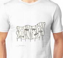 beach sculpture Unisex T-Shirt