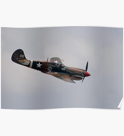 FLYING TIGER of the C.I.B. Poster