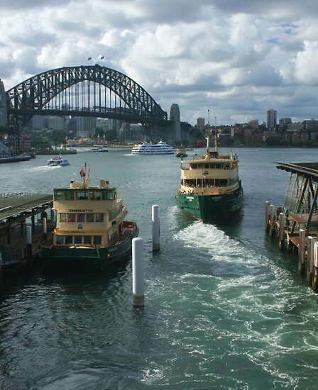 Sydney Harbour from Circular Quay by Michael Matthews