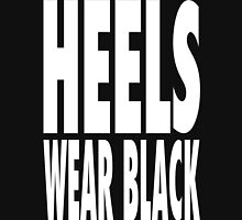 Heels Wear Black Unisex T-Shirt