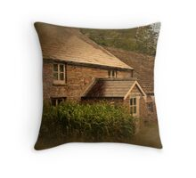 Craswell cottage Throw Pillow