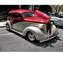 """1938 Plymouth""... prints and products Photographic Print"