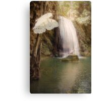 Floating and Flowing Canvas Print